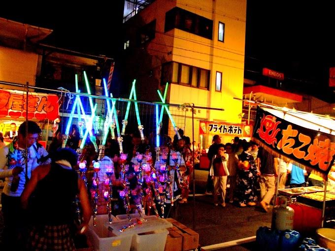 267 #夏 #夏祭り #夜 #祭り #屋台 #風景