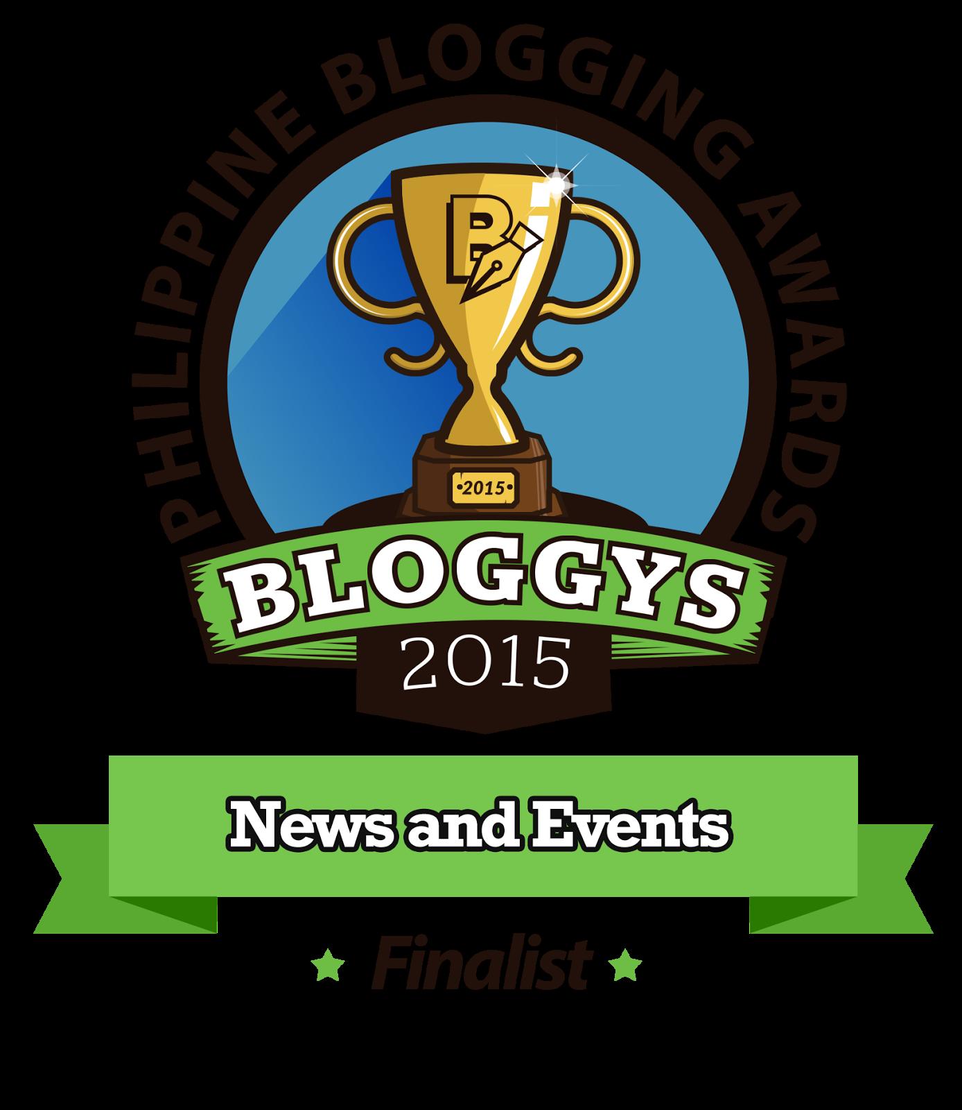 TheSummitExpress Bloggys 2015 Finalist