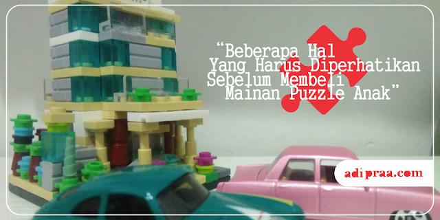 Beberapa Hal yang Harus Diperhatikan Sebelum Membeli Mainan Puzzle Anak | adipraa.com