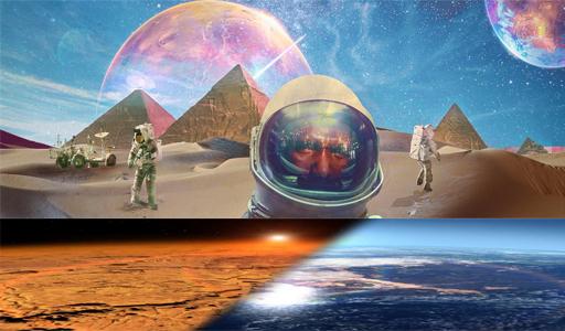 تحويل المريخ الي كوكب صالح للحياة عبر تلويثه, إرسال الميكروبات من الأرض إلى المريخ والمساعدة في تحويله إلى كوكب صالح للحياة البشرية,المريخ والحياة, الحياة على المريخ, المرخ كوكب صالح للحياة,
