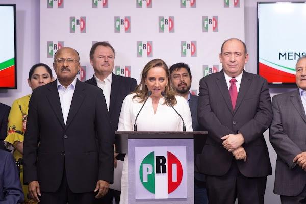 El PRI merece una nueva oportunidad, estamos libre de corrupción, sabemos gobernar: Claudia Ruiz Massieu Salinas