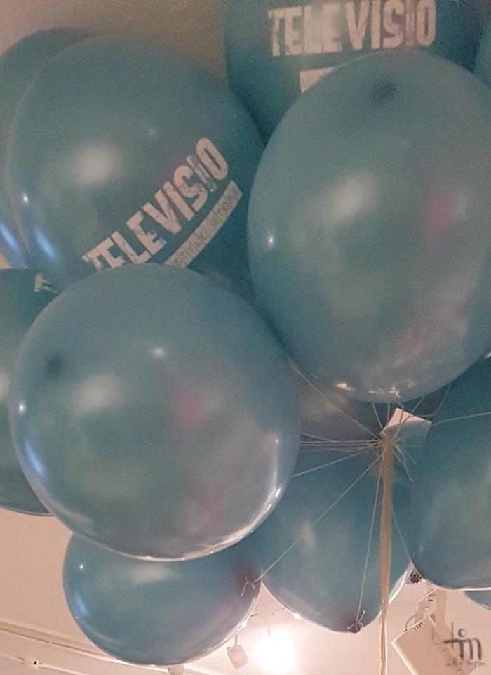 Televisio Lifestylestore 10-vuotissyntymäpäivä ilmapallot
