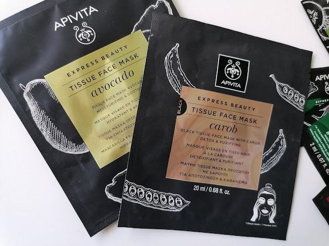 Appivita tissue mask avocado