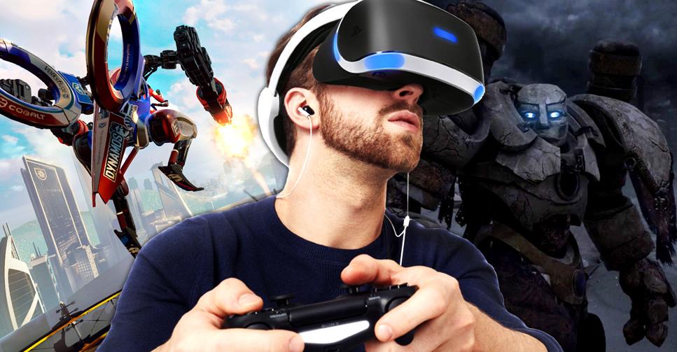 bb7ed30b7436d A realidade virtual está cada vez mais próxima para os donos de PlayStation  4. O PlayStation VR, óculos de realidade virtual compatível com o console,  ...