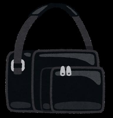 エナメルバッグのイラスト