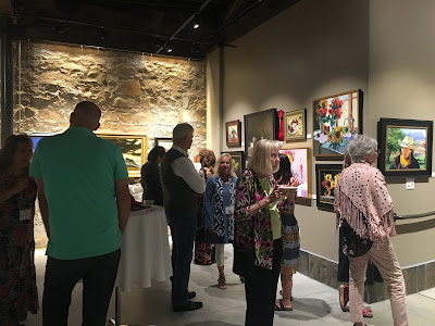 western art show reception