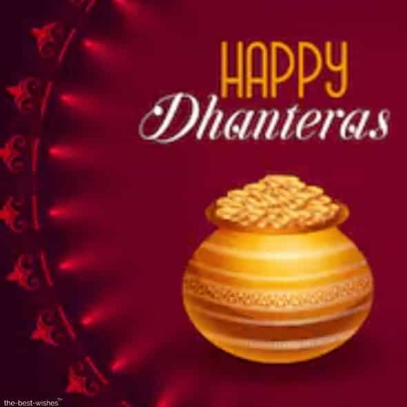 dhanteras wishes for husband