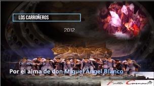 """Pasodoble con Letra """"Por el Alma"""". Comparsa """"Los Carroñeros"""" (2012)"""