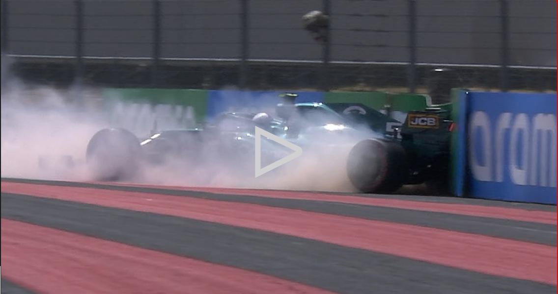 Vettel culpa o vento pela curva 11 no FP1, já que prevê um desempenho mais forte do Aston Martin na qualificação