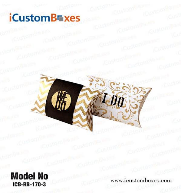 Pillow Boxes Custom