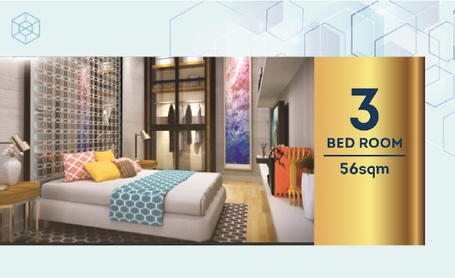Three Bed Room Apartemen Chadstone