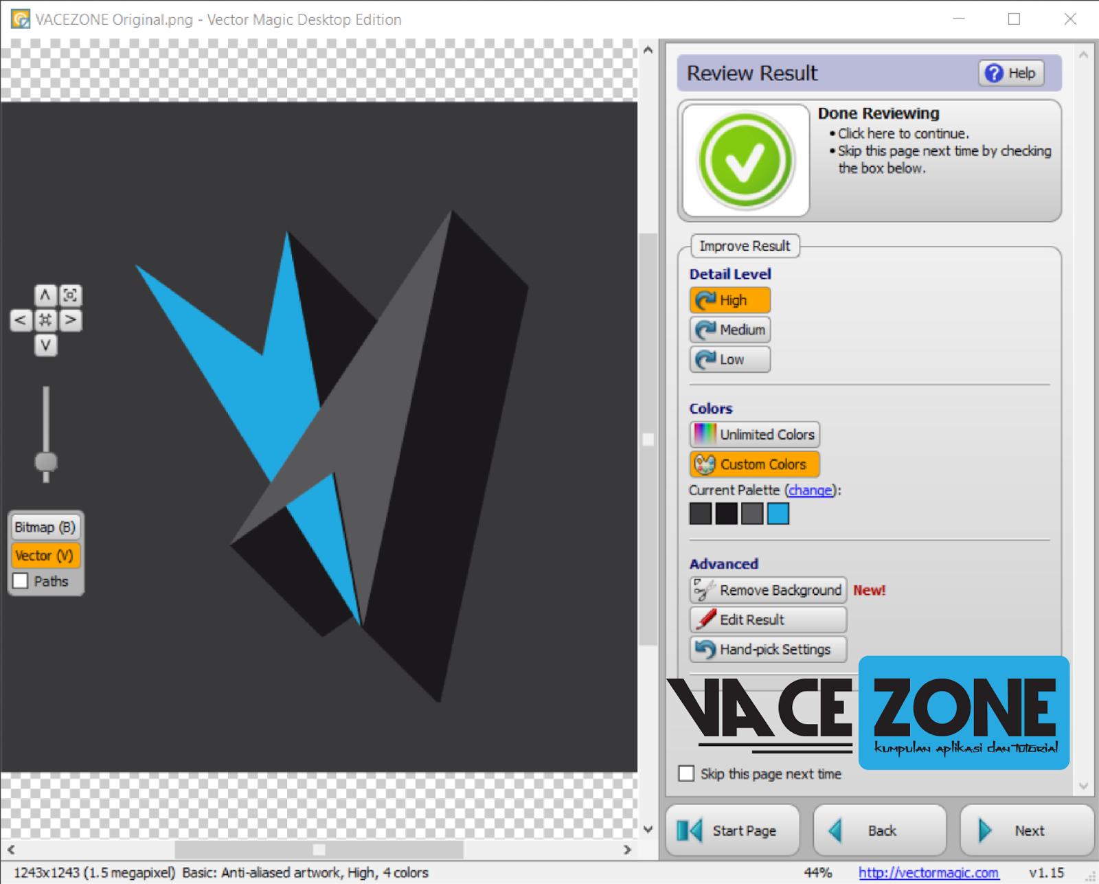 vector magic desktop edition 1.15