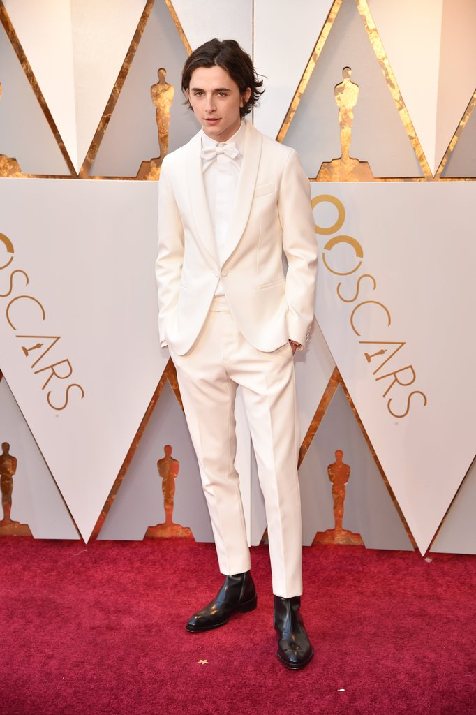 Timothee Charlamet Oscars 2018