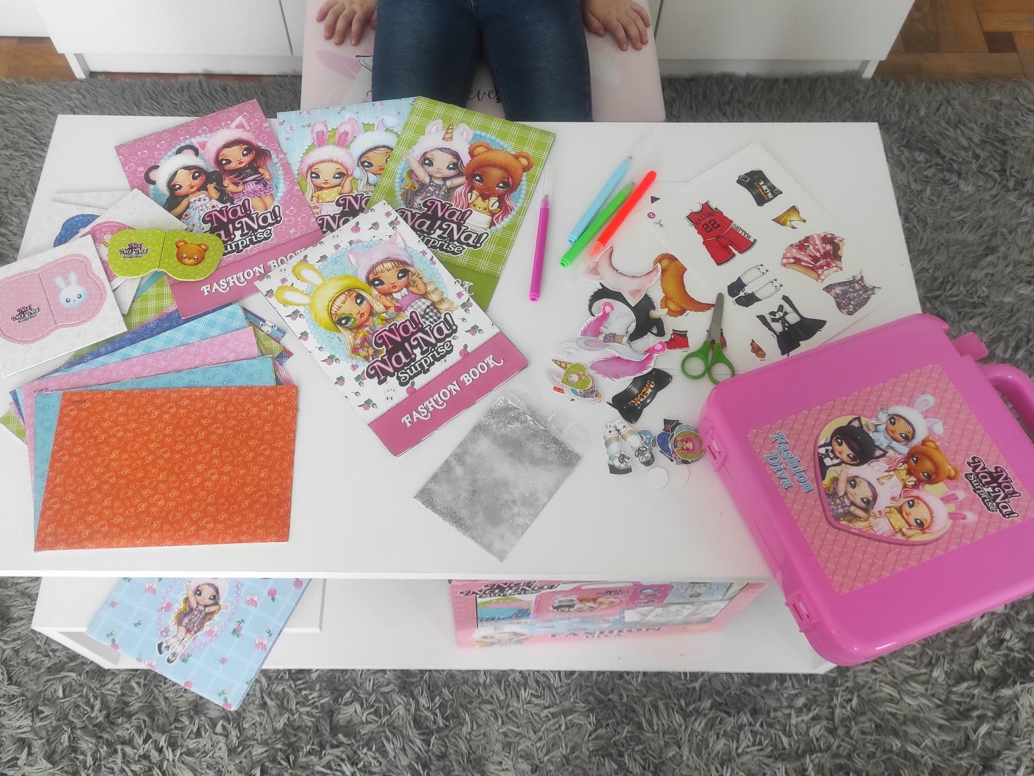 Zabawki dla dziewczynki stylista mody
