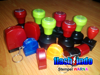 flashindo - macam stempel warna murah