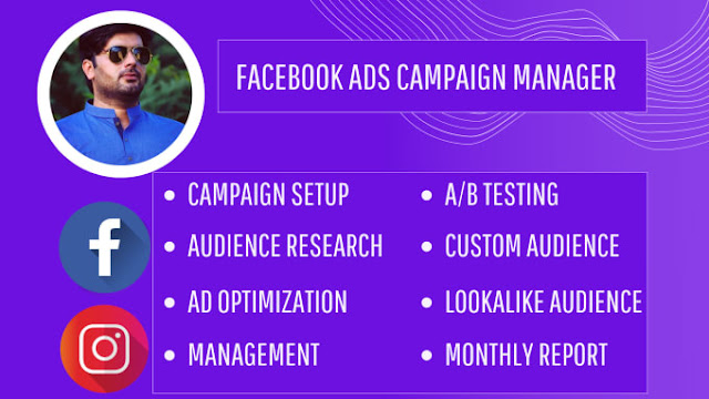 Facebook ads campaign and instagram marketing promotion - #growthmarketing #socialmediamanager #instagramhacks
