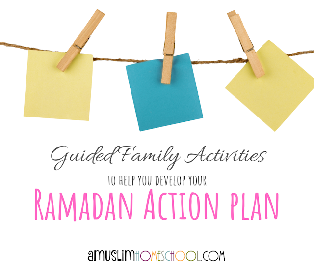 create your Ramadan action plan with this family activity guide