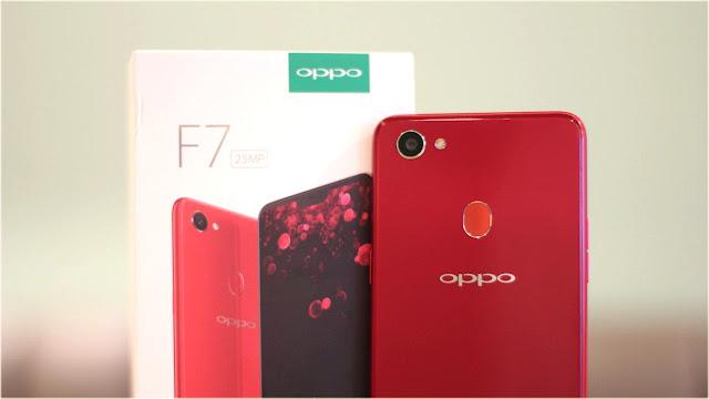 هاتف oppo F7 الجديد | تعرف على مواصفات والسعر + مسابقة للفوز بهاتف iphone SE 2 مجانا!?