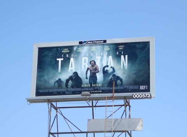 Tarzan 2016 billboard