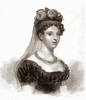 Princess Charlotte  from The Ladies' Monthly Museum  In memoriam (1817)
