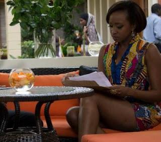 Janet Mbugua thighs