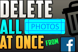 How to Delete All Photo From Facebook