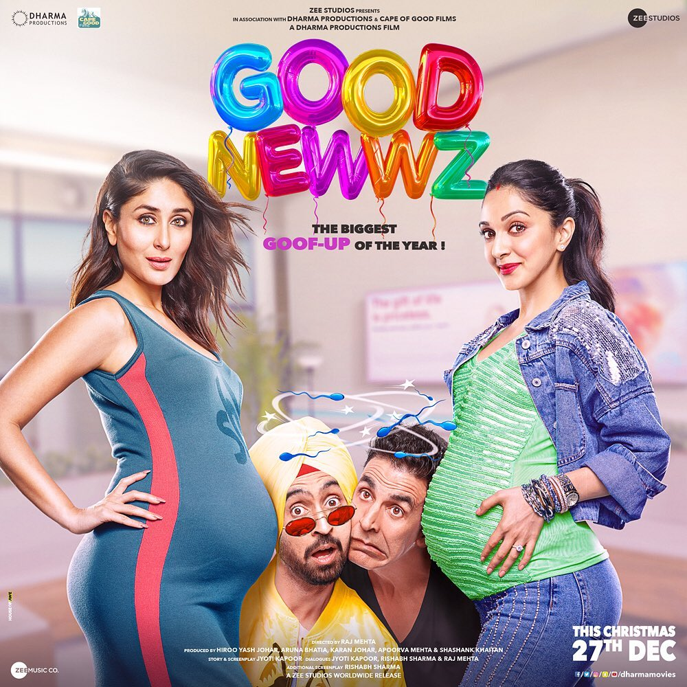 Akshay, Amy Jackson, Rajinikanth film Good Newwz Enters Bollywood 100 Crore club Mark in 5 days, Good Newwz Becomes Highest Grosser Of 2020