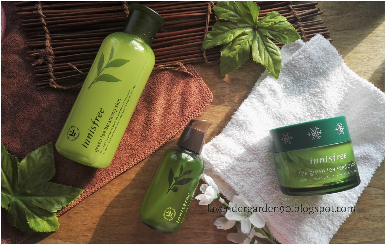 Carolyn's Lavender Garden: Review: Innisfree The Green Tea Seed ...