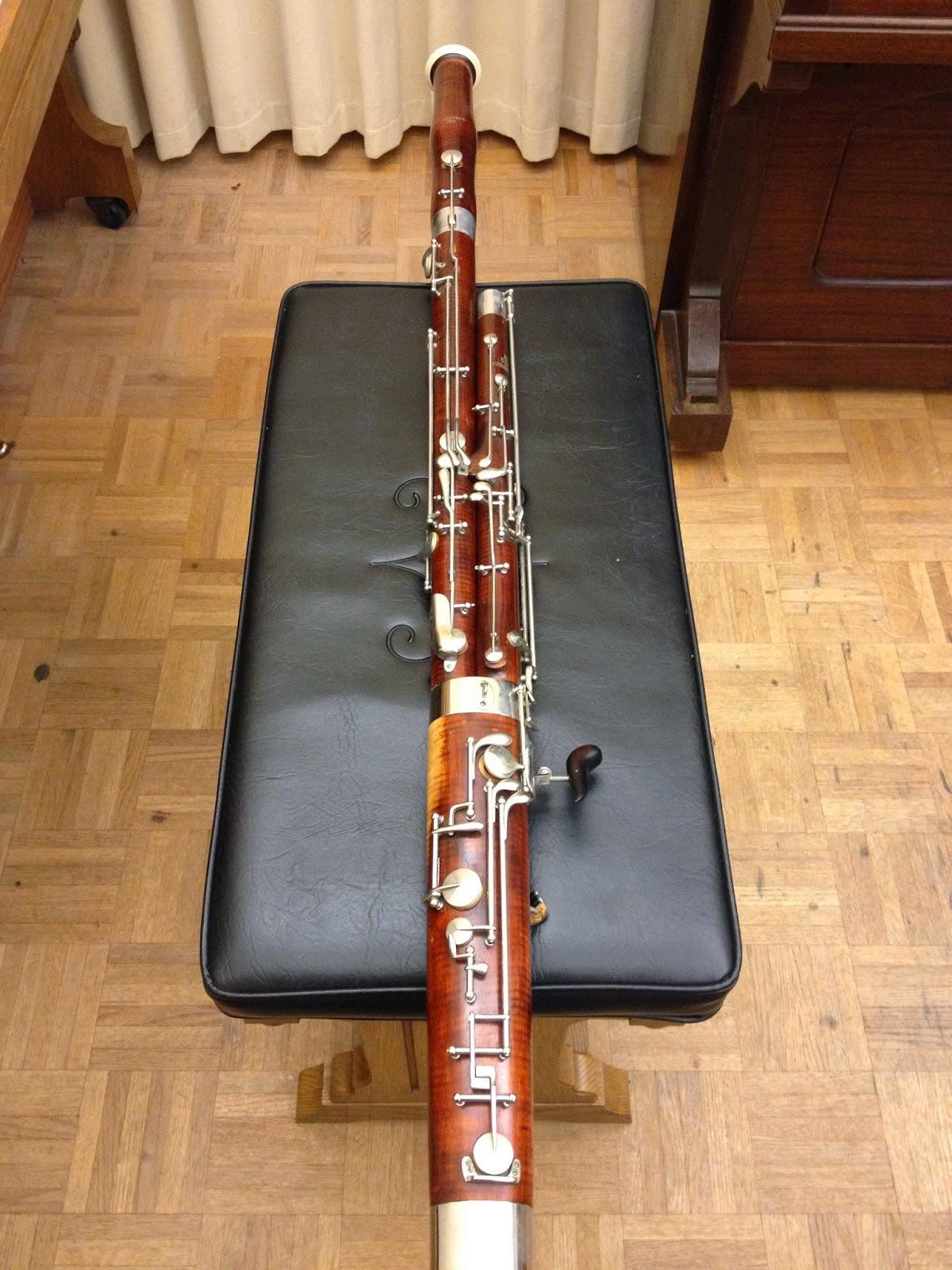 Bassoon Talk: Heckel Contra Bassoon and Bassoon for Sale