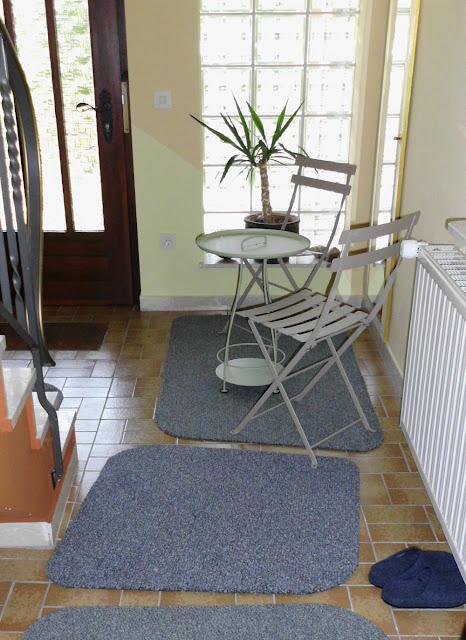 Fußmatte bzw. Sauberlaufmatte in neuer Design Form – ein einfacher Selbermachen-Tipp für den Flur und Hauseingang zum schöner Wohnen