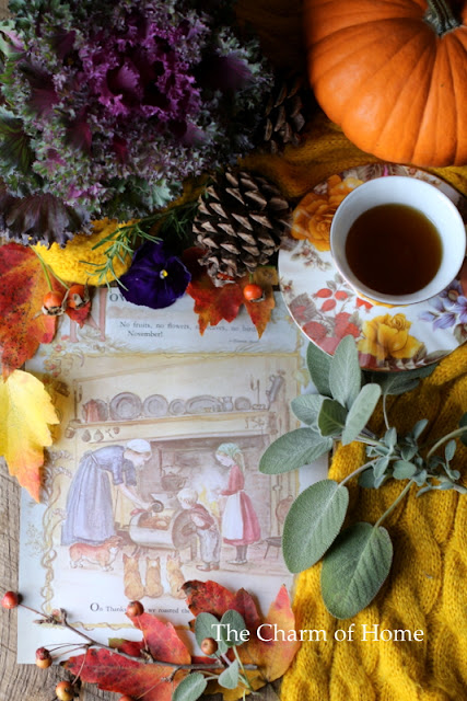 November Tea/Garden Journal: The Charm of Home