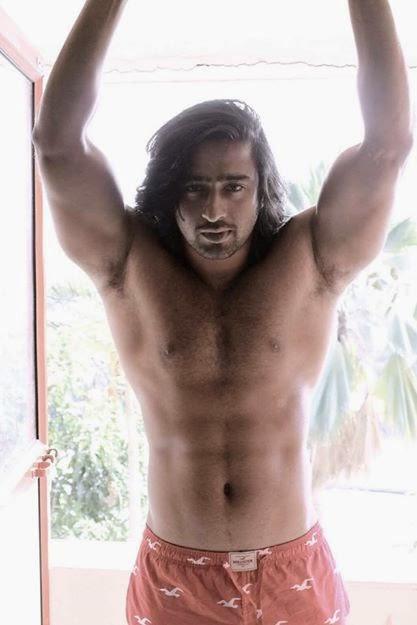 Foto Shaheer Sheikh ~ Pemeran Arjuna Mahabarata 10