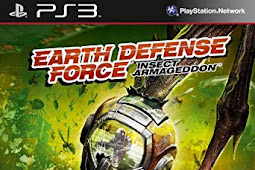 Earth Defense Force Insect Armageddon PKG PS3 OFW HAN