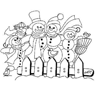 אנשי שלג לצביעה