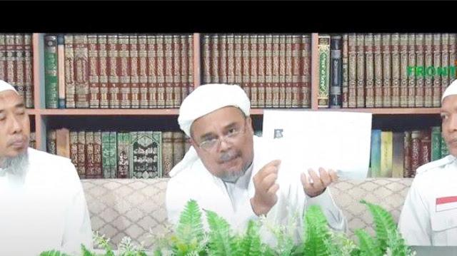 Ini isi Bocoran Dokumen Habib Rizieq dengan Intelijen