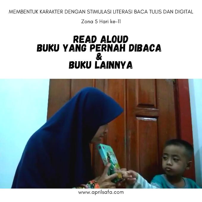 Read Aloud Buku yang Pernah Dibaca dan Buku Lainnya | Zona 5 Hari ke-11