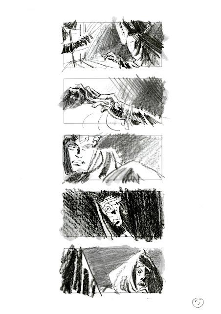 Ben-hur #thumbnails #storyboard