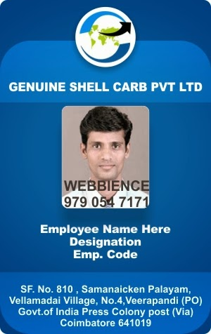 Webbience: Employee Id Cards