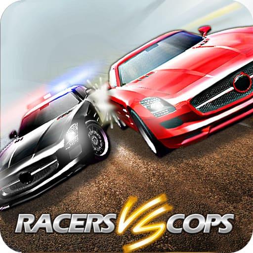 متسابقون في مواجهة رجال الشرطة - Racers Vs Cops: Multiplayer