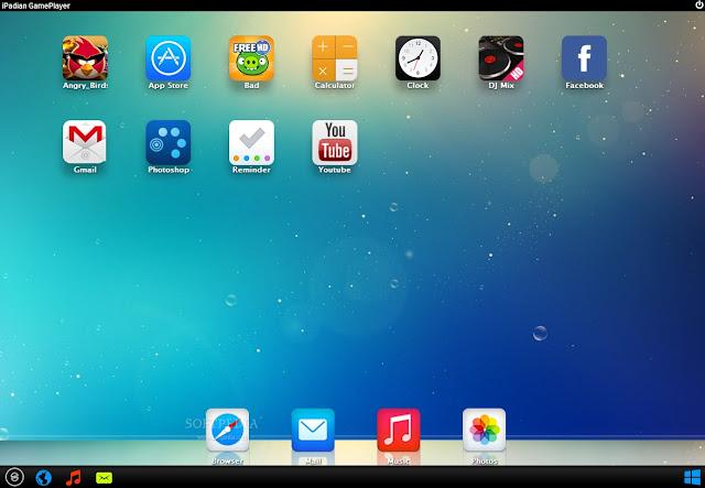 تحميل برنامج تشغيل تطبيقات الايباد على الكمبيوتر iPadian 3