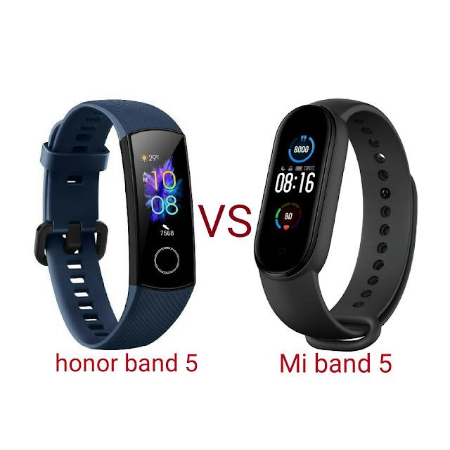 الفرق بين هنور باند 5 و مي باند 5