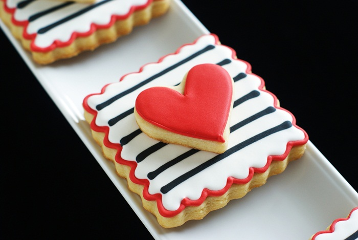 how to make double-decker decorated cookies