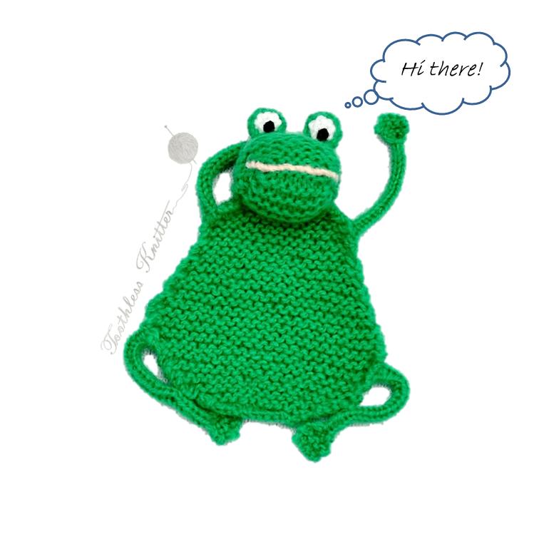 Flat Frog - a Bookmark / Płaska Żaba - Zakładka