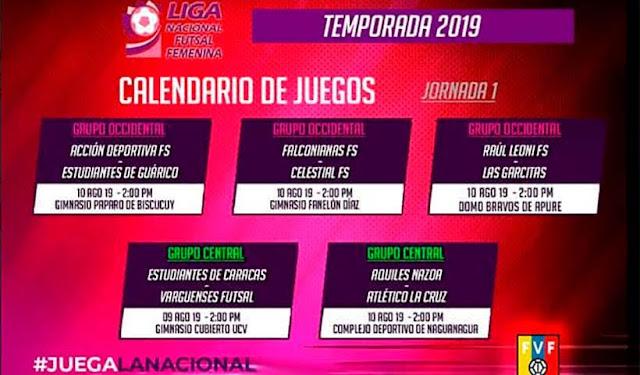 Apure: Raúl Leoni de Biruaca inicia este fin de semana la liga nacional femenina de Futsal.