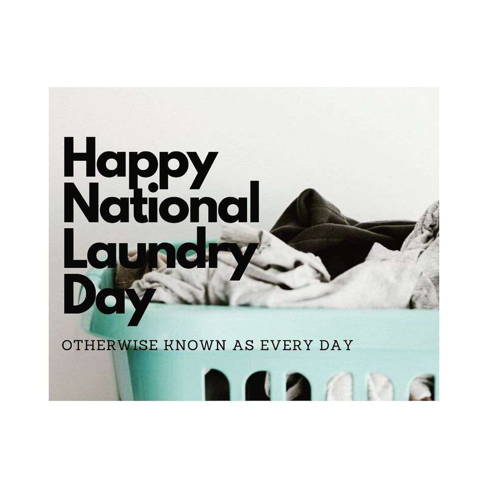 National Laundry Day Wishes for Instagram
