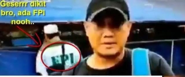 Reporter TV CNN Jadi Sorotan Netizen.. Lantaran Ada Penampakan FPI Di Belakang Saat Meliput Korban Bencana