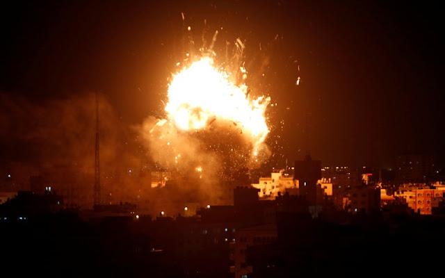Video Detik-Detik Aqsa TV Gaza Dibom Pesawat Zionis