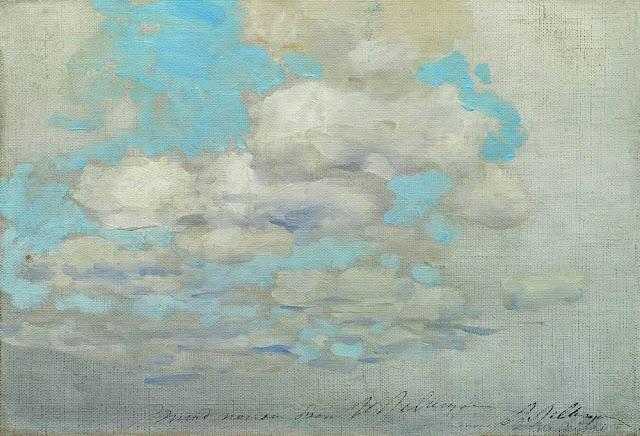 Исаак Ильич Левитан - Облака. 1890-е