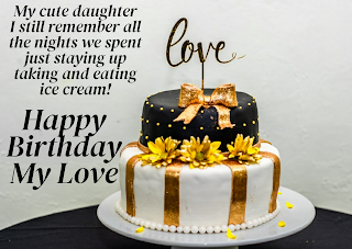 Happy Birthday Daughter Wishes Images in English,