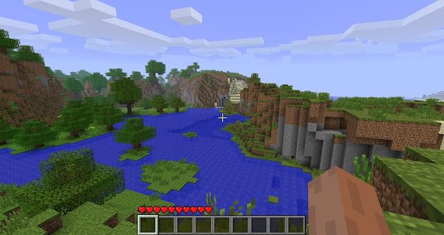 Descoberto seed do menu inicial do Minecraft